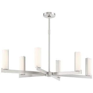 Kovacs P1857-084-L LED Light Chandelier from the Tube Collection