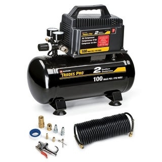 Trades Pro 2 Gallon Air Compressor With Accessories - 837254