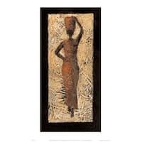 ''African Lady'' by Kate Philp Prime Arts Art Print (15.7 x 11.8 in.)