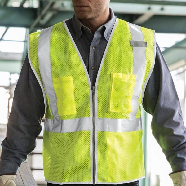 Brilliant Series Economy High Visibility Vest