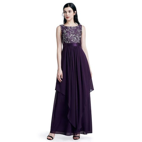 Ever-Pretty Women's Lace Long Evening Party Maxi Dresses for Women 08217
