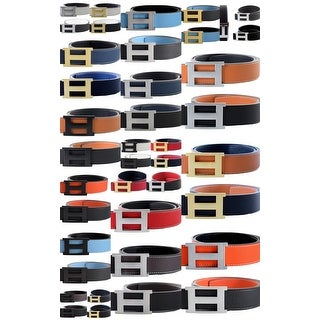 """Link to Women/Man H and 8 Belt Reversible Leather With Removable Buckle  (FITS FROM SIZE 26/28 TO 34/35 Waist ) """"New Arrival"""" Similar Items in Shop By Style"""