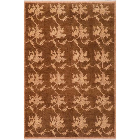 """Boho Chic Ziegler Jeannine Hand Knotted Area Rug -7'11"""" x 9'9"""" - 7 ft. 11 in. X 9 ft. 9 in."""