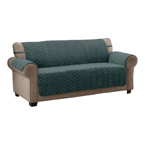 Fairmont Diamond Plush XL Sofa Furniture Cover - Extra Large Sofa - Extra Large Sofa