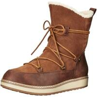 White Mountain Womens Topaz Leather Closed Toe Ankle Cold Weather Boots