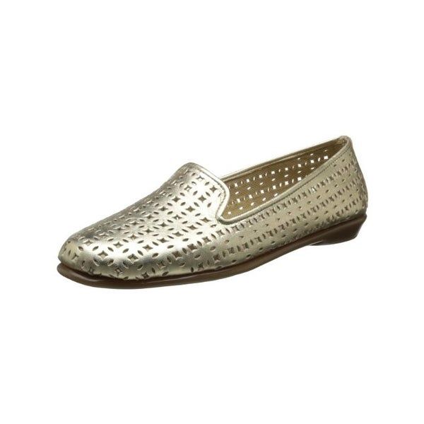 Aerosoles Womens You Betcha Smoking Loafers Perforated