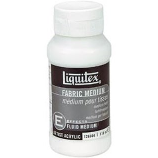 4oz - Liquitex Fabric Acrylic Fluid Medium