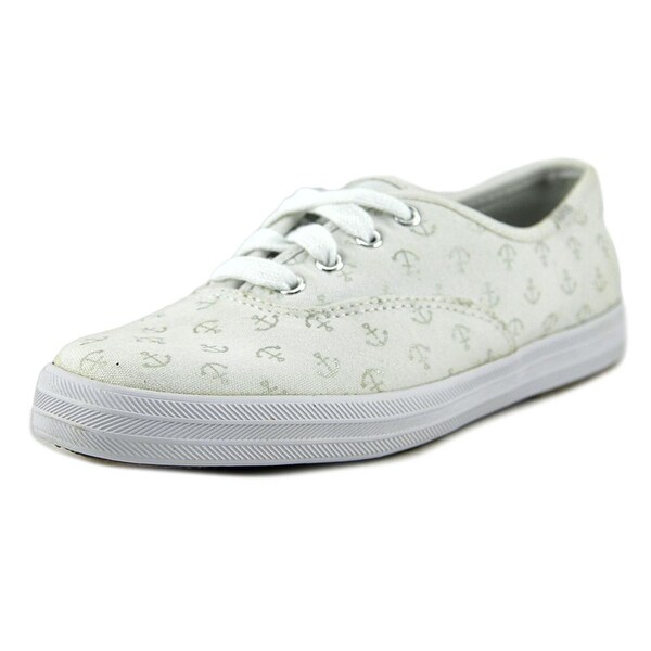 Keds CH Anchors Women Round Toe Canvas White Sneakers