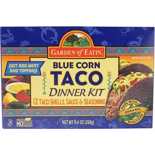 Garden Of Eatin' - Taco Blue Corn Dinner Kit ( 12 - 9.4 oz boxes)