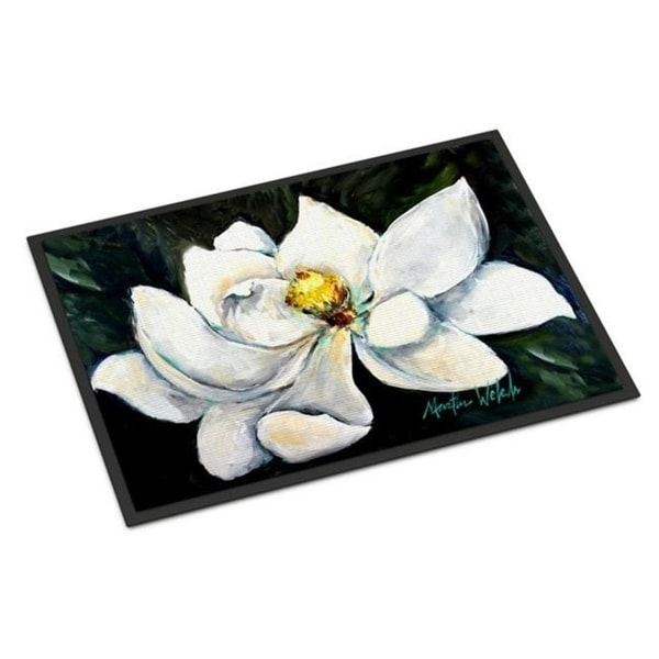 Carolines Treasures MW1234JMAT Sweet Magnolia Indoor or Outdoor Mat 24 x 36 in.