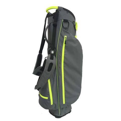 Air light SC stand bag Charcoal/yellow