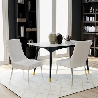 Link to Furniture of America Tila Contemporary Dining Chairs (Set of 2) Similar Items in Dining Room & Bar Furniture