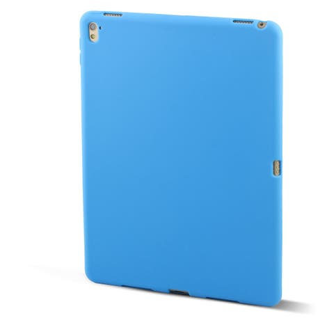 Rubber Protective Skin Back Cover Case Blue for Apple iPad Pro 9.7inch