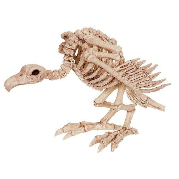 Skeleton Vulture Halloween Decoration