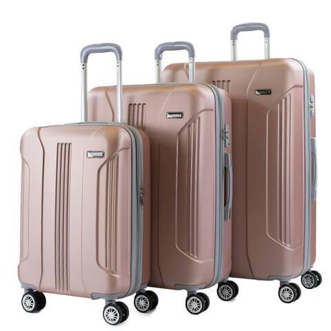 Denali S Anti-Theft 3-Piece TSA Spinner Luggage Set