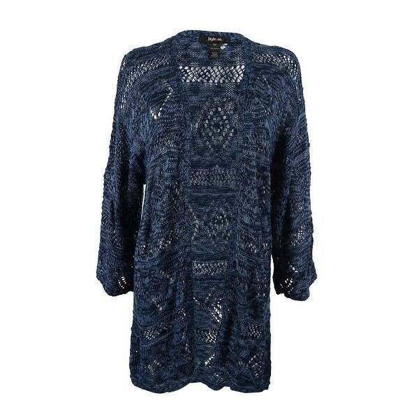 Style & Co. Women's Kimono Sleeves Cardigan