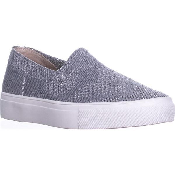 0cc616f662d Shop STEVEN Steve Madden Kai Slip On Sneakers, Silver - 9 us - Free ...