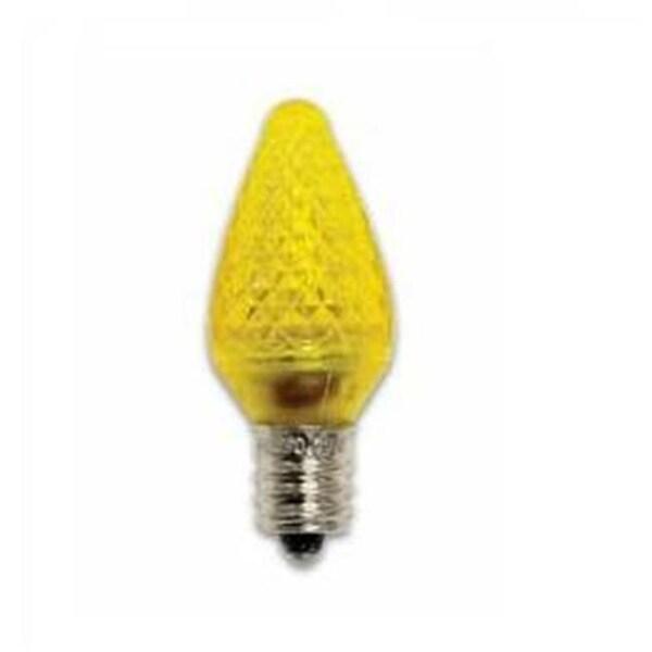 0 Watt 120 Volt C7 E12 Candelabra Base Decorative Light Bulb