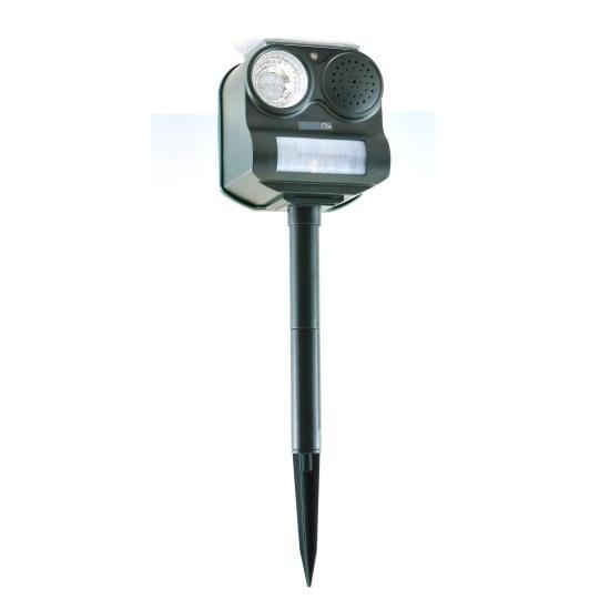 Solar Power Bird & Bat Animal Pest Repeller, Outdoor Electronic Motion Detector Alert Sensor