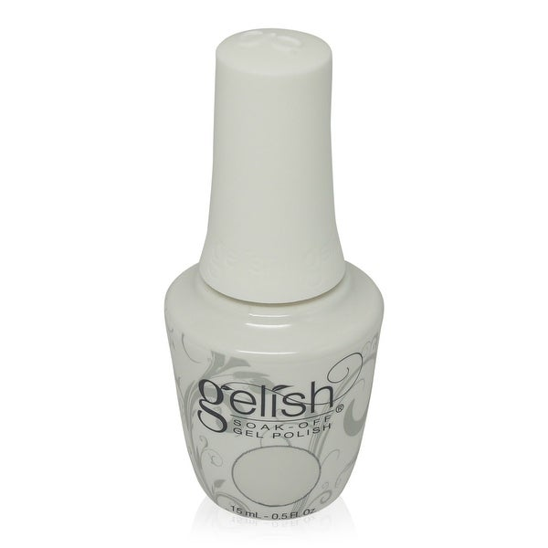 Gelish - Soak-Off Gel Polish Sheer White Metallic-Heaven Sent