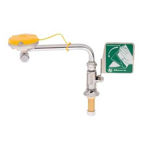 Haws 7612 Swing-away eyewash designed to be mounted on right side of - Stainless Steel