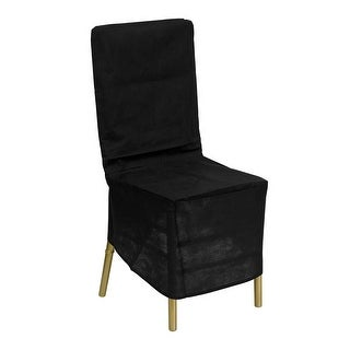 Offex Black Fabric Chiavari Chair Storage Cover [LE-COVER-GG]