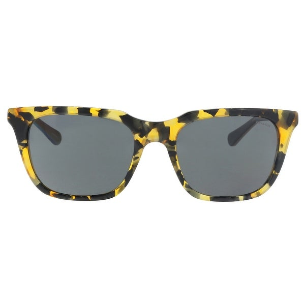 Coach HC8236 538887 Honey Mosia Rectangle Sunglasses - 56-19-140. Opens flyout.
