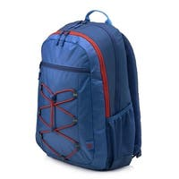 HP 15-inch Laptop Sport Backpack (Blue/Red) - BLue