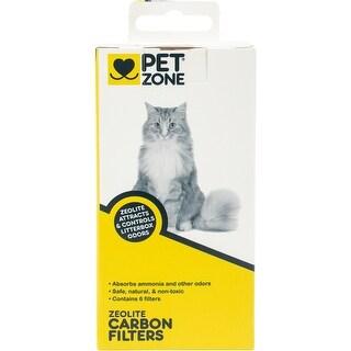 Pet Zone Zeolite Carbon Filters 6/Pkg-