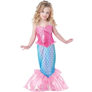 InCharacter Mermaid Toddler Costume - Pink/Blue