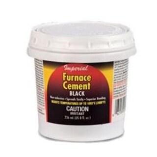 Imperial KK0077-A Furnace Cement, Black, 8 Oz