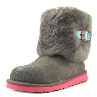 Ugg Australia Ellee Round Toe Suede Ankle Boot