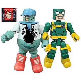 Marvel Minimates Series 65 Mascot Deadpool & Bob Agent Of Hydra
