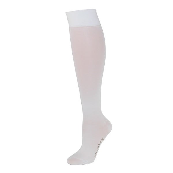 Gold Toe Women's Firm Compression Knee High Socks