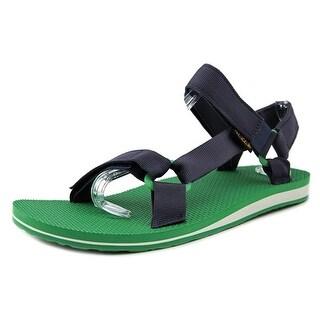 Teva M Original Universal Men Open-Toe Canvas Blue Sport Sandal
