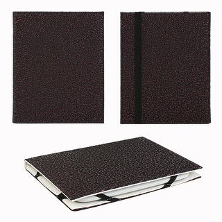 """JAVOedge Embossed Purple Ivy 6"""" Universal eReader Book Case for the Nook Touch, Glowlight, Kobo, Touch, Kindle (Black)"""