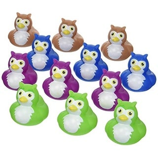 Owl Rubber Duckys - 12 pc