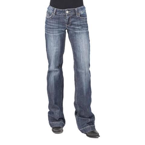 Tin Haul Western Jeans Womens Medium Wash
