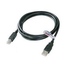 USB 2.0 Cable (A to B), 3-foot