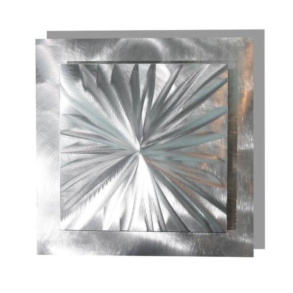 Statements2000 Silver Metal Wall Art Accent Decor by Jon Allen - Prizm 3