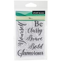 "Penny Black Clear Stamps 3""X4""-Be..."