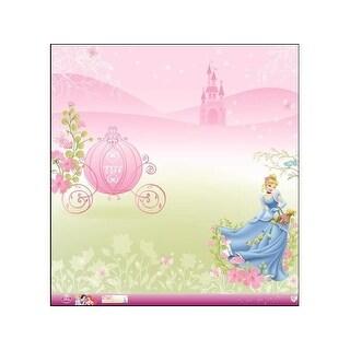 EK Paper 12x12 Disney Princess Cinderella Glitter
