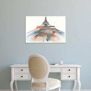 Easy Art Prints Melissa Wang's 'View of Eiffel I' Premium Canvas Art