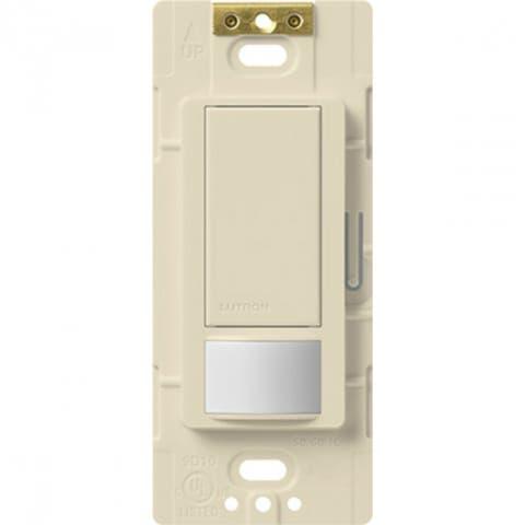Lutron MS-OPS5MH-LA Maestro Large Room/Fan Occupancy Sensor Switch,Light Almond