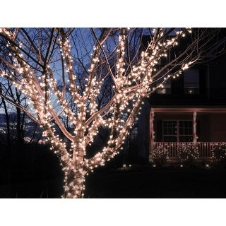 Link to Solar Powered 100 LED String Light - Cool White Similar Items in String Lights