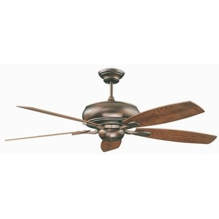 "Concord 52RS5 Roosevelt 52"" 5 Blade Indoor Ceiling Fan with Blades Included, and Downrod Included"