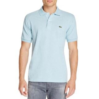 Lacoste Mens Polo Shirt Pique Classic Fit Blue M