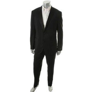 BOSS Hugo Boss Mens The Sky1/Gala1 Wool Satin Lapel Tuxedo