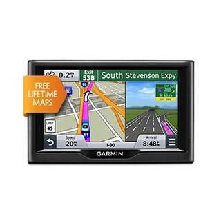 "Refurbished Garmin Nuvi 58LMGPS Navigator 5"" Dual Orientation Touchscreen Display w/maps of the U.S. and Canada"