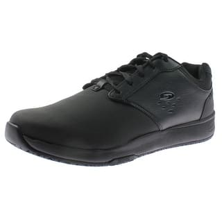 Dr. Scholl's Mens Intrepid Work Shoes Faux Leather Cushioned - 13 medium (d) https://ak1.ostkcdn.com/images/products/is/images/direct/42305390e2bc1f0dc724ad04bac398f8c64791f7/Dr.-Scholl%27s-Mens-Intrepid-Work-Shoes-Faux-Leather-Cushioned.jpg?impolicy=medium